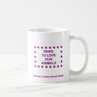 Patas para amar #19 - cuadrado - púrpura taza clásica