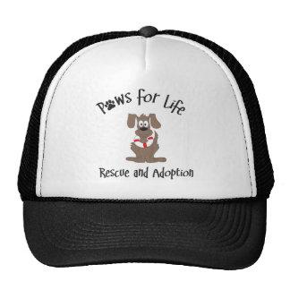 Patas para el casquillo de la bola de la vida gorras