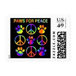 Patas para el franqueo de la paz