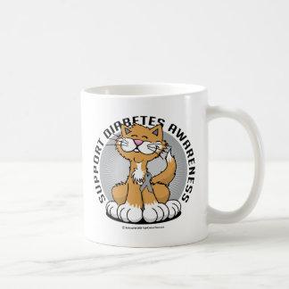 Patas para el gato de la diabetes taza