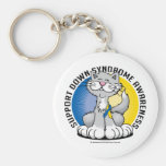 Patas para el gato de Síndrome de Down Llaveros Personalizados