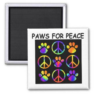 Patas para el imán de la paz