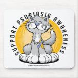 Patas para el psoriasis tapete de raton