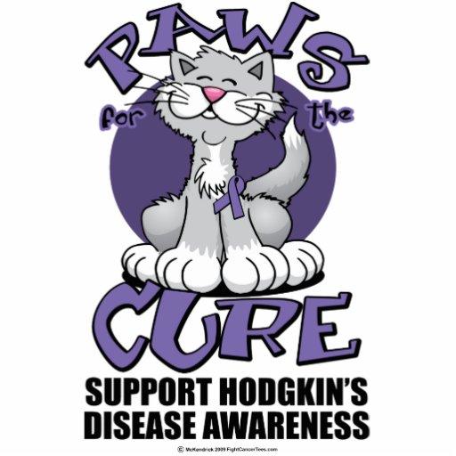 Patas para la linfoma de Hodgkin del gato de la cu Fotoescultura Vertical