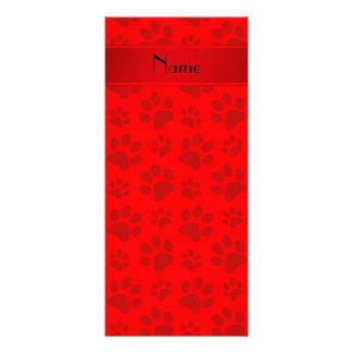 Patas rojas de neón conocidas personalizadas del lona publicitaria
