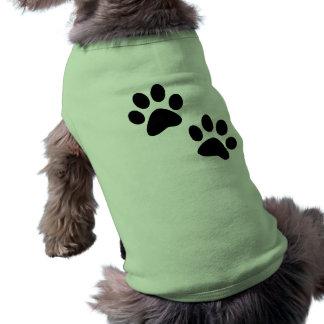 Patas Camisa De Perro