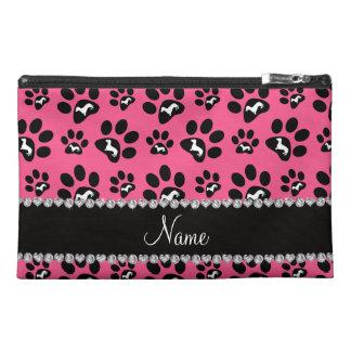 Patas rosadas conocidas personalizadas del perro