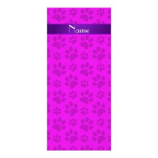 Patas rosadas de neón conocidas personalizadas del lonas