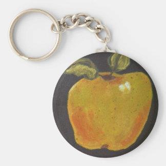 Patata a la inglesa de miel Apple Llavero Redondo Tipo Pin