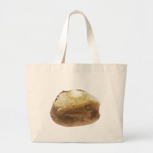 Patata cocida bolsa tela grande