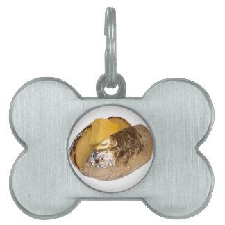 Patata cocida placas mascota