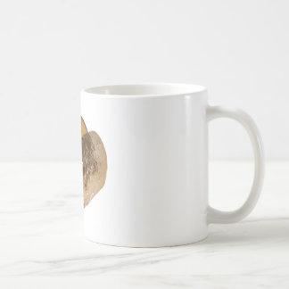 Patata cocida taza de café