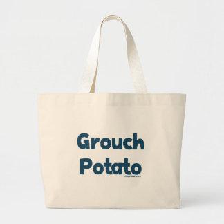 Patata del Grouch Bolsa Tela Grande