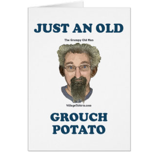 Patata del Grouch Tarjeta Pequeña