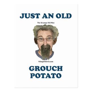 Patata del Grouch Tarjetas Postales