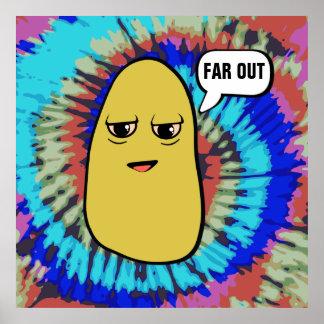 Patata dos veces cocida póster