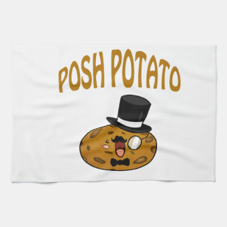 Patata elegante toallas