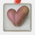 Patata en forma de corazón de Francisca Ornamento De Reyes Magos