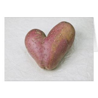 Patata en forma de corazón de Francisca Tarjetón