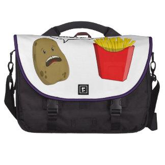 patata y fritadas bolsas para portátil