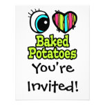 Patatas cocidas amor brillante del corazón I del o Comunicados