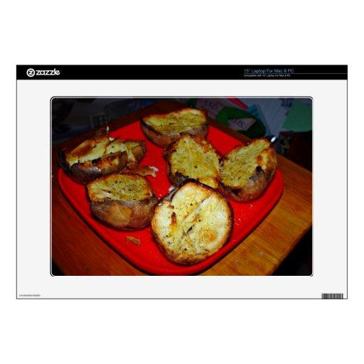 Patatas cocidas en la placa plástica roja calcomanía para 38,1cm portátil