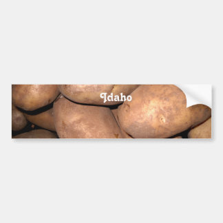 Patatas de Idaho Pegatina Para Auto