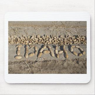 Patatas de Idaho Mousepads