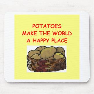 patatas de la patata tapetes de raton