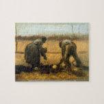 Patatas de Vincent van Gogh. Gran título de la pin Rompecabezas