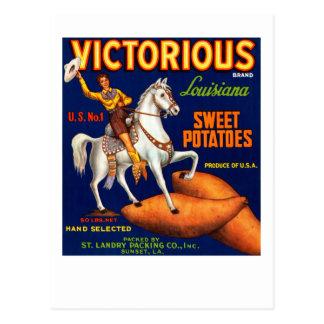 Patatas dulces de Luisiana de la marca victoriosa