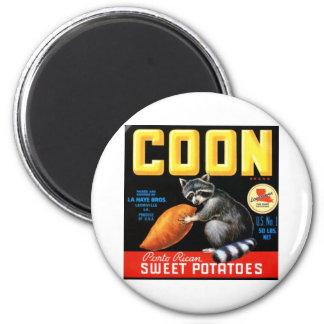 Patatas dulces del Coon Iman Para Frigorífico