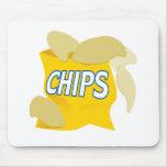 patatas fritas alfombrilla de ratones