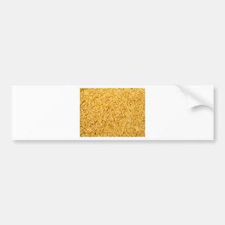 Patatas fritas pegatina de parachoque