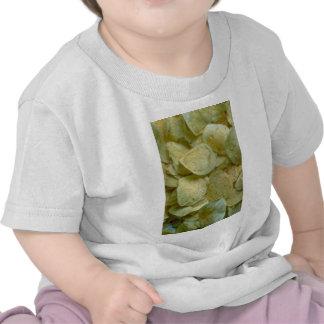 Patatas fritas curruscantes camisetas