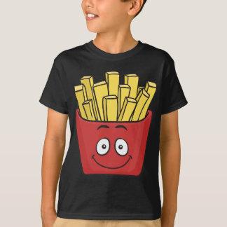 Patatas fritas de Emoji Playera