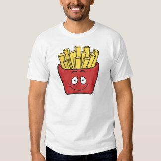 Patatas fritas de Emoji Playeras