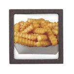 patatas fritas del Arruga-cut Caja De Regalo De Calidad
