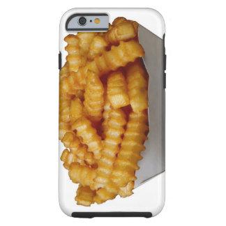 patatas fritas del Arruga-cut Funda De iPhone 6 Tough