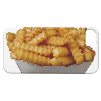 patatas fritas del Arruga-cut Funda Para iPhone 5 Barely There