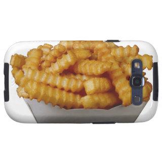 patatas fritas del Arruga-cut Galaxy S3 Cárcasas