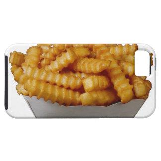 patatas fritas del Arruga-cut iPhone 5 Fundas