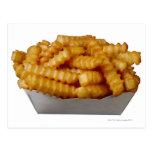 patatas fritas del Arruga-cut Postales