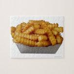 patatas fritas del Arruga-cut Puzzle