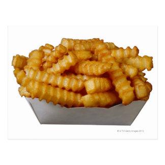 patatas fritas del Arruga-cut Tarjeta Postal