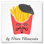 Patatas fritas del Le de Francia Arte Fotográfico