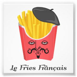 Patatas fritas del Le de Francia Fotografía
