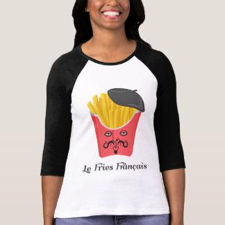 Patatas fritas del Le de Francia Tee Shirts