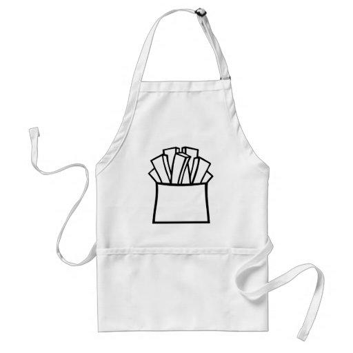Patatas fritas delantales