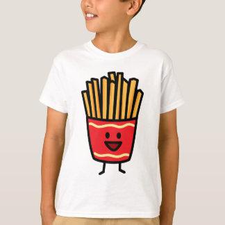 Patatas fritas felices playera